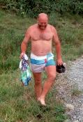 Nyvasket shorts