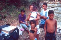 De indfødte følger med i hvordan jeg har pakket dagens fangst