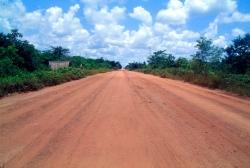 Der er meget jern i jorden derfor de rødeveje