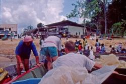Surinam River vi gør os klar til at sejle til Djomongo