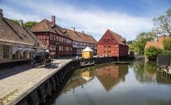 Parti fra den gamle by i Århus