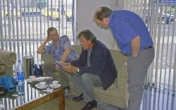 Møde med fiskeeksportør Rafael i Quito
