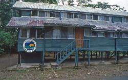 Universitettes station i Limoncocha her boede vi nogle dage