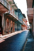 Fra den gamle del af Panama City