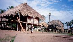 Indianerlejr her bor choco indianerne
