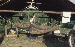 Surinam River Campen ved Brokopondo
